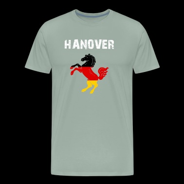 City-Design Hanover Horse EN mSUrD7 - Men's Premium T-Shirt