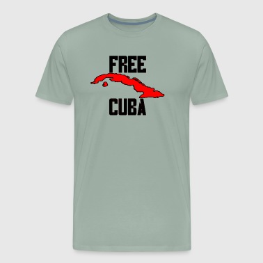 Free Cuba Red - Men's Premium T-Shirt
