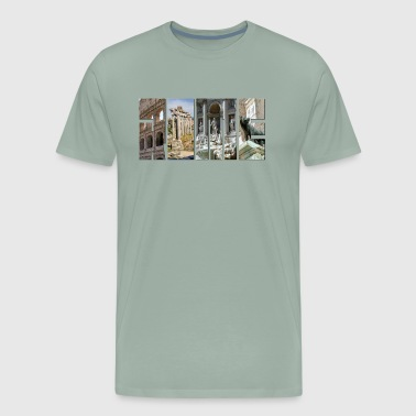 The monuments of ancient Rome - Men's Premium T-Shirt