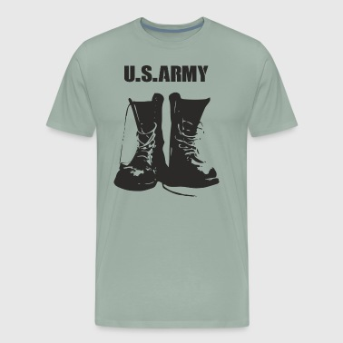 US ARMY feel like a soldier for daily challengue - Men's Premium T-Shirt