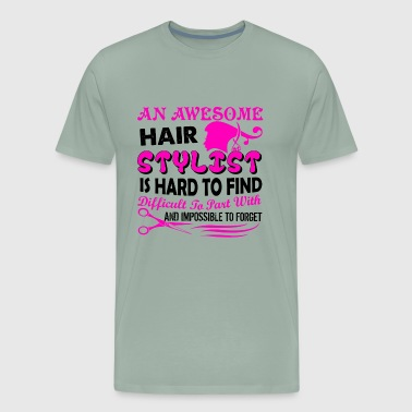 For Awesome Hair Stylists Shirt - Men's Premium T-Shirt