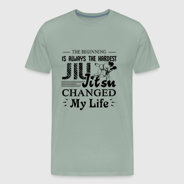 Always The Hardest Jiu Jitsu Shirt - Men's Premium T-Shirt