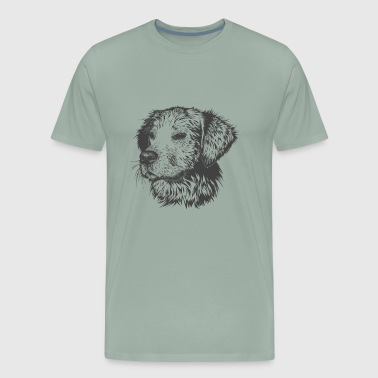 A man's best friend - Men's Premium T-Shirt