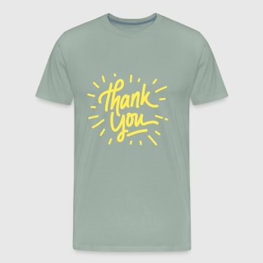 Thank you - Men's Premium T-Shirt