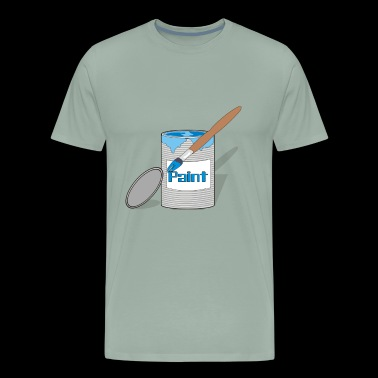 paint can - Men's Premium T-Shirt