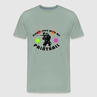 Paintball Play Party T-Shirt - Men's Premium T-Shirt