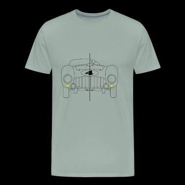 Classic race car 375 - Men's Premium T-Shirt