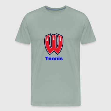 Westview High School Tennis (Blue Lettering) - Men's Premium T-Shirt