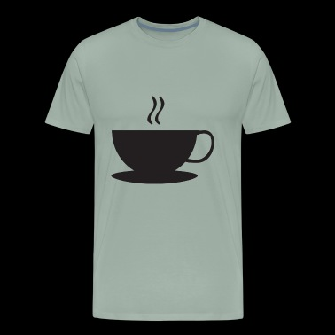 cup coffee - Men's Premium T-Shirt