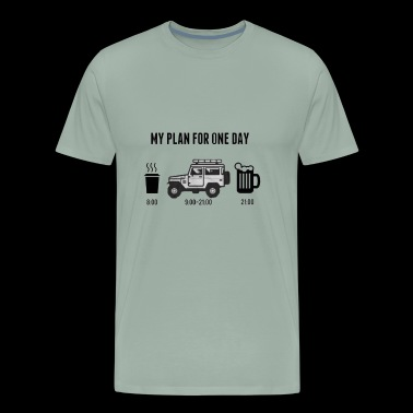 car addiction - Men's Premium T-Shirt