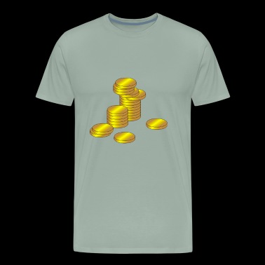 coins - Men's Premium T-Shirt