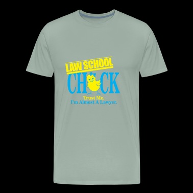 03 law school chick - Men's Premium T-Shirt