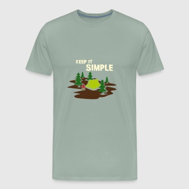 Camping Adventure I Wilderness Gift - Men's Premium T-Shirt