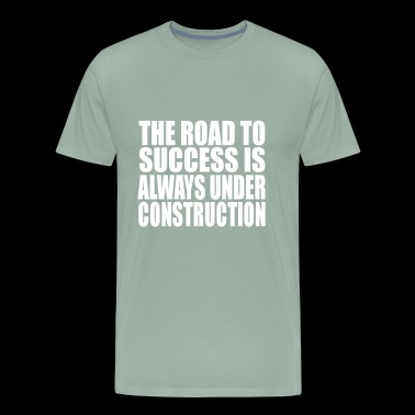 the road - Men's Premium T-Shirt