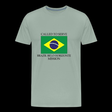 Brazil Belo Horizonte LDS Mission Called to Serve - Men's Premium T-Shirt