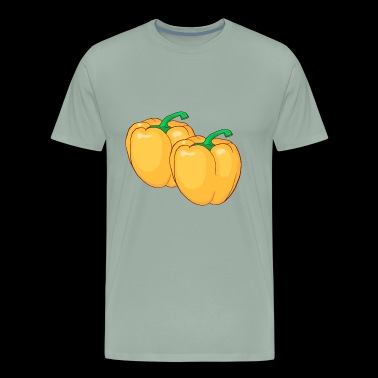 Yellow Paprika Pepper - Men's Premium T-Shirt