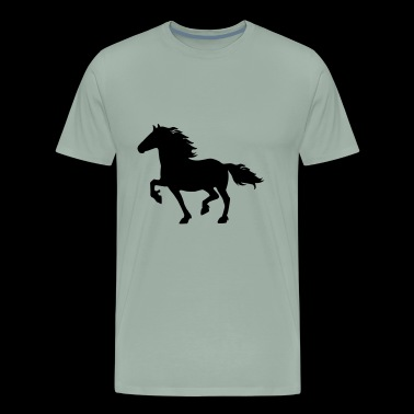 friesian horse - Men's Premium T-Shirt