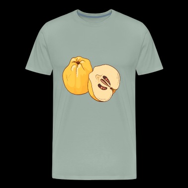 Quince Apple Pear Apples Pears - Men's Premium T-Shirt
