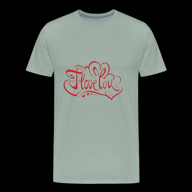 love red - Men's Premium T-Shirt