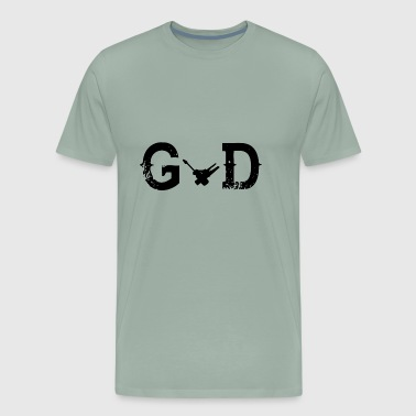 Legend Gott god Elektriker - Men's Premium T-Shirt