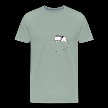 Pocket Catana and John - Men's Premium T-Shirt