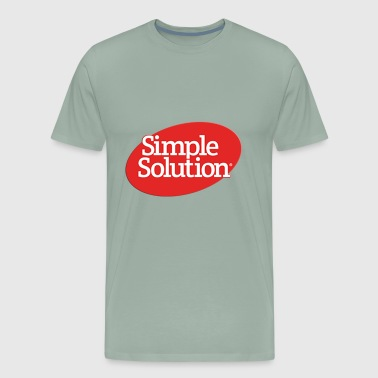 simple solution - Men's Premium T-Shirt