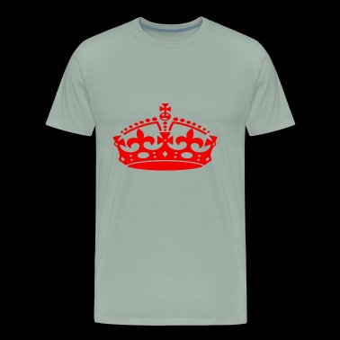 jubilee crown red - Men's Premium T-Shirt