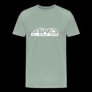 NEW All Wheel Drives - Men's Premium T-Shirt