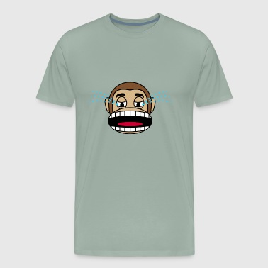 Crying Monkey - Men's Premium T-Shirt