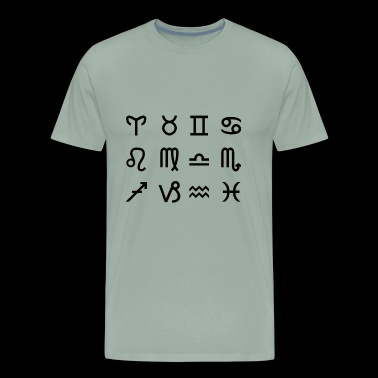 Zodiac Signs - Men's Premium T-Shirt