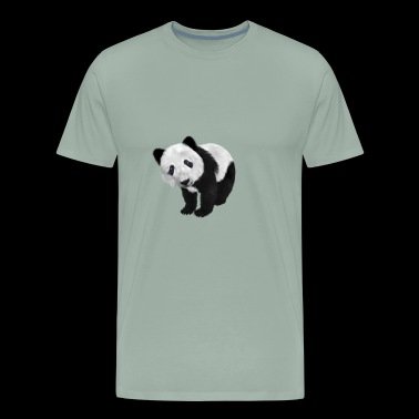 Funny Panda Shirt Gift Idea for men and women - Men's Premium T-Shirt