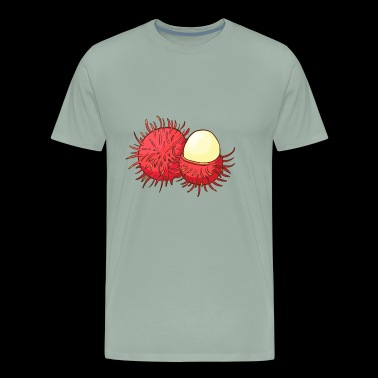 Rambutan Fruit - Men's Premium T-Shirt