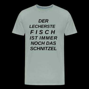 Fish and schnitzel - Men's Premium T-Shirt