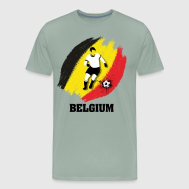 Support Belgium National Soccer team! - Men's Premium T-Shirt