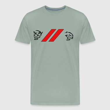 DEMON HELLCAT - Men's Premium T-Shirt