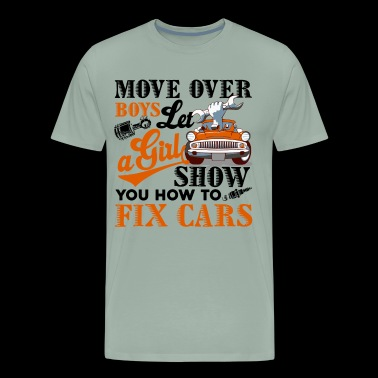 Car Mechanic How To Fix Cars Shirt - Men's Premium T-Shirt