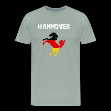 City-Design Hanover Horse GER yMVvTM - Men's Premium T-Shirt