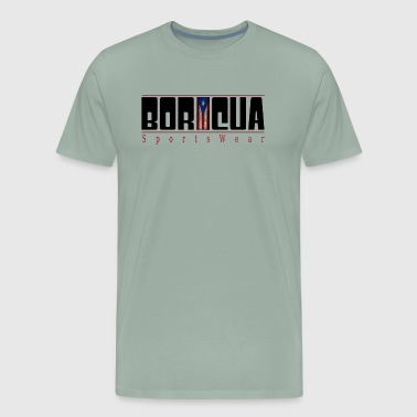 BoricuaSportsWear by Harry Cornier - Men's Premium T-Shirt