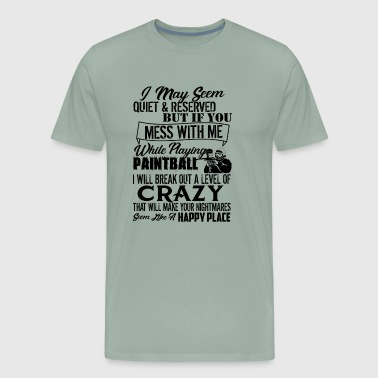 Paintball Crazy Shirt - Men's Premium T-Shirt