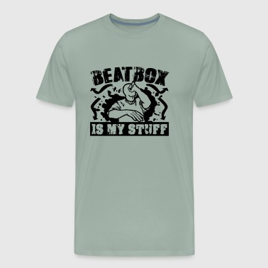 Beatbox Is My Stuff Shirt - Men's Premium T-Shirt
