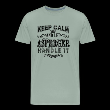 Asperger Shirt - Let Asperger Handle it T shirt - Men's Premium T-Shirt
