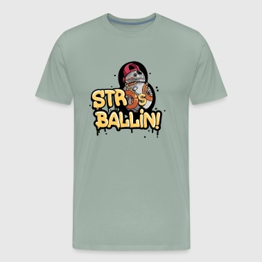 Str8 Ballin - Men's Premium T-Shirt