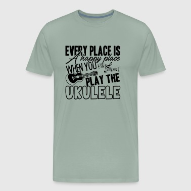 Play The Ukulele Shirt - Men's Premium T-Shirt