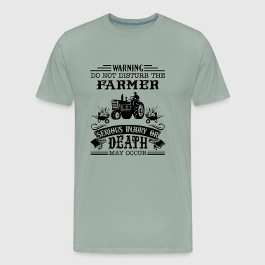 Warning Farmer Shirt - Men's Premium T-Shirt