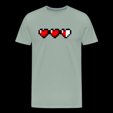 Zelda Hearts - Men's Premium T-Shirt