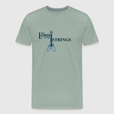 The Lord of the strings - Men's Premium T-Shirt