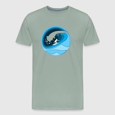 surfing - Men's Premium T-Shirt