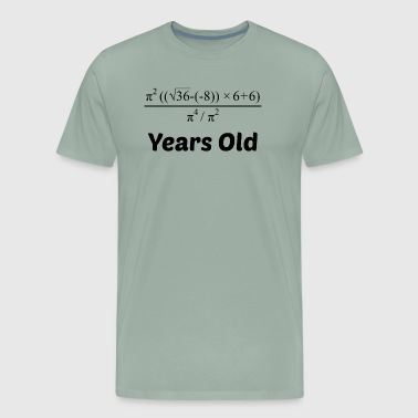 Algebra Equation 90th Birthday - Men's Premium T-Shirt