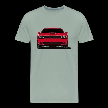 Challenger Red - Men's Premium T-Shirt