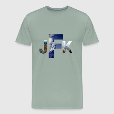 Jetsetter Collection- JFK/NYC Edition - Men's Premium T-Shirt